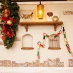 クリスマスを家デートでする時の飾り付けは部屋と玄関をダイソーで決める!